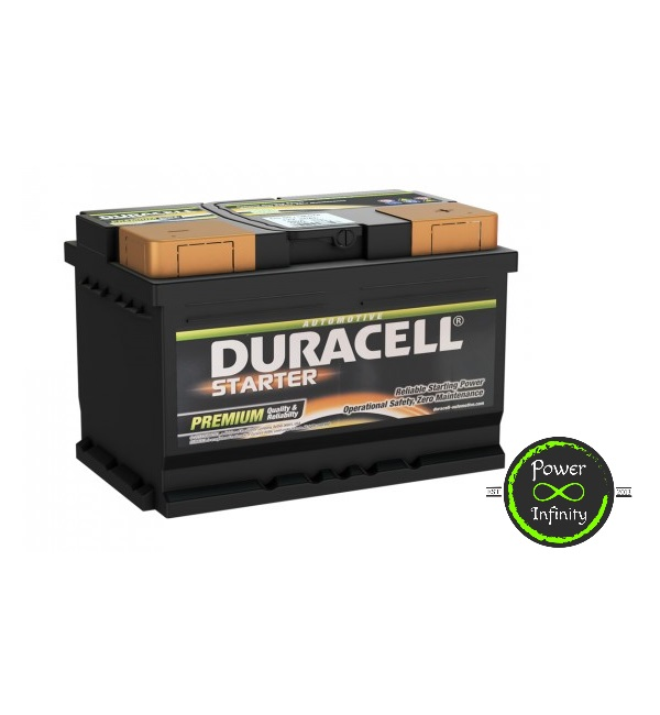 Duracell Car Battery - 652 (Brand New)