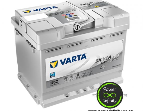 Varta Silver Dynamic AGM D52